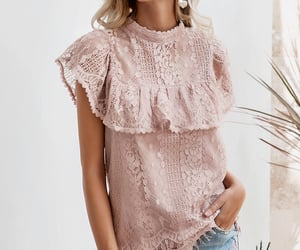 blouse, casual, and dress image