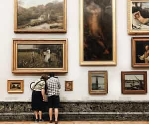 art, museum, and romantic image