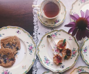 sweets, tea, and tea party image