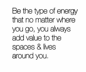 be, energy, and value image