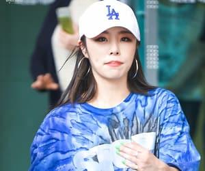blue shirt, fashion, and kpop image