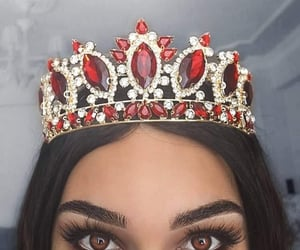 crown, eyes, and style image