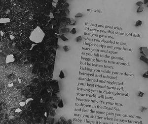 abandon, alone, and break up image