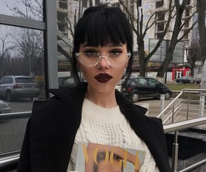 fashion, glasses, and hair image
