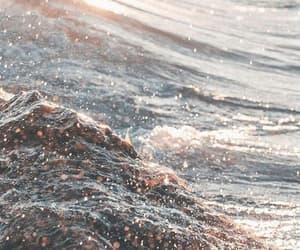 wallpaper, ocean, and beach image