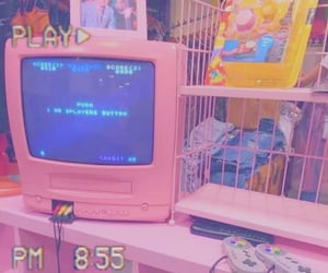 aesthetic, colours, and pink image
