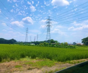 blue, green, and japan image