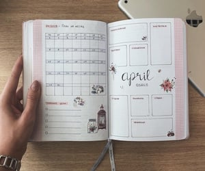 april, goals, and plans image