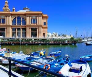 boat, summer, and holiday image