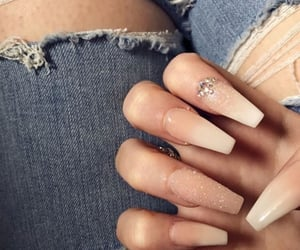 girly, nails, and ideas image