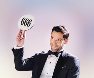 666, lucifer, and twitter image