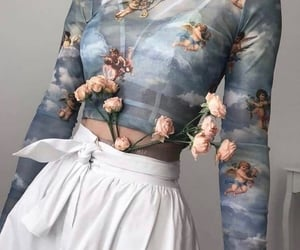 fashion, aesthetic, and angel image