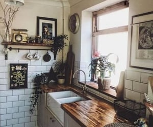 interior, kitchen, and home image