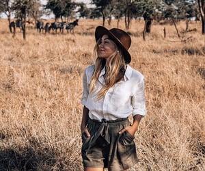 adventure, fashion, and safari image