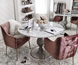 home office, interior design, and walk in closet image