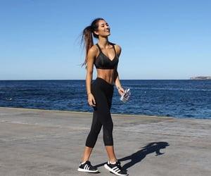 fitness, girl, and gym image