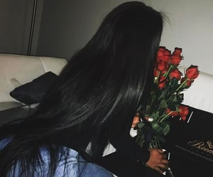 hair and long image