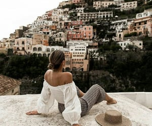 girl, travel, and vacation image