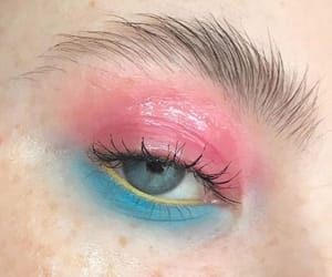 80s, makeup, and aesthetic image