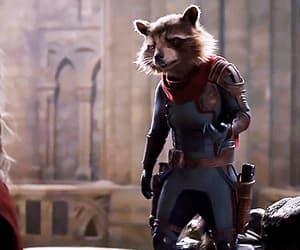 film, endgame, and rocket raccoon image