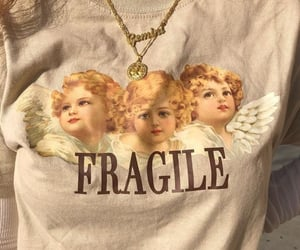 shirt, angel, and clothes image