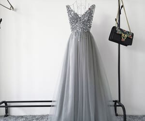 long dress, prom dress, and tulle image