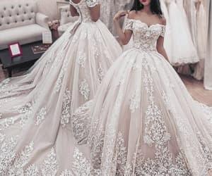 boho wedding dress and wedding ball gown image