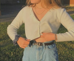 blue jeans, fashion, and jeans image