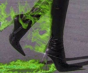 fire, aesthetic, and boots image