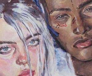 billie eilish and xxxtentacion image