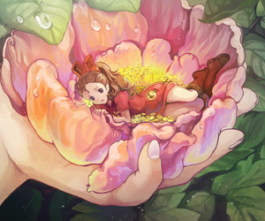 studio ghibli, arrietty, and anime image