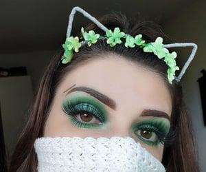 beauty, creative, and eyebrows image
