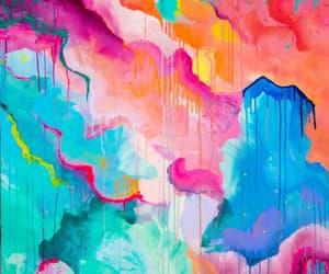 acrylic, art, and background image