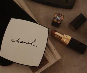 brown, themes, and chanel image