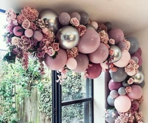 amazing, balloons, and flowers image
