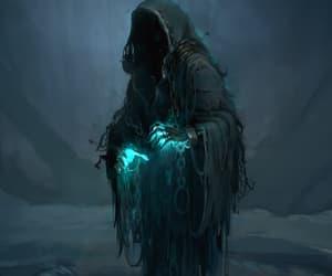 dark, fantasy, and ghost image