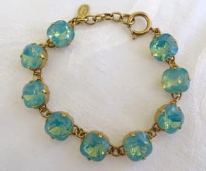 etsy, swarovski crystals, and crystal bracelet image