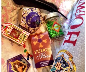 harry potter, candy, and hogwarts image