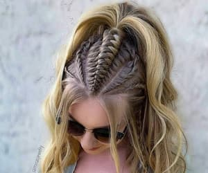 girl, hair, and dpz image
