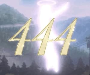 aesthetic, angel, and 444 image