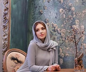 girl, muslim, and grozny image