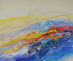 Abstract Painting, graphics, and illustration image