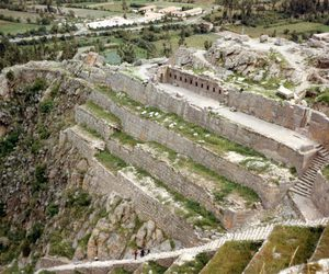 incan, ollantaytambo, and incan resistance image