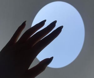 nails, hands, and light image