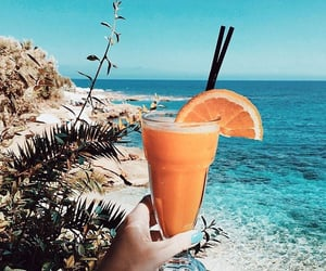 ocean, sea, and drink image