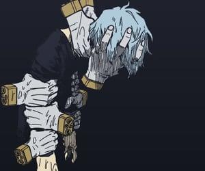 color, manga, and sad image