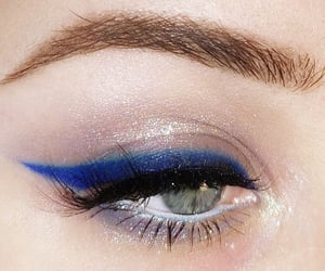 aquarius, makeup, and beauty image