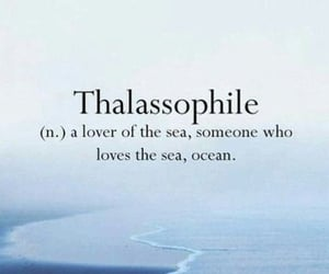 blue, ocean, and quotes image