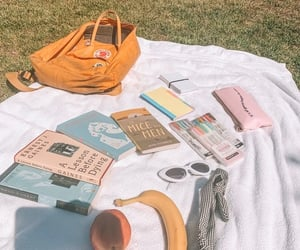 aesthetic, fjallraven kanken, and nature image