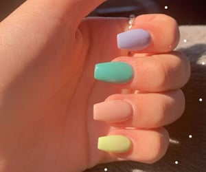 nails, aesthetic, and style image